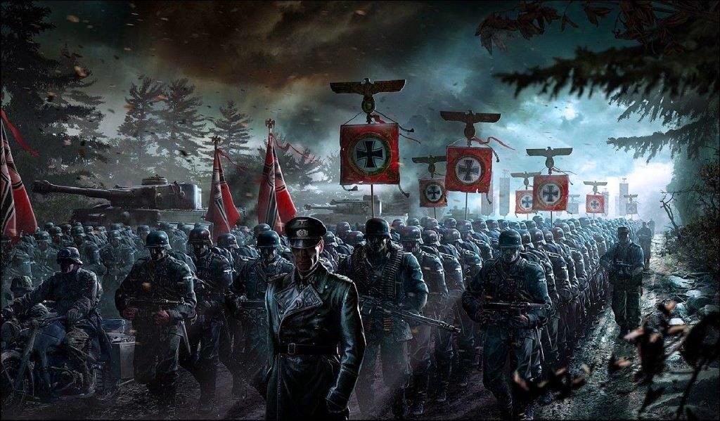 Немецко-нацистские войска Третьего Рейха